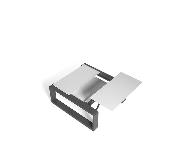 Petite table modulable