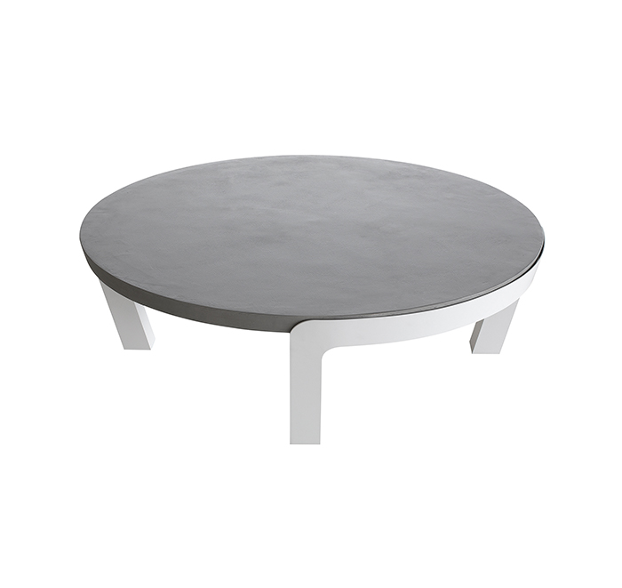 Table basse plateau tournant