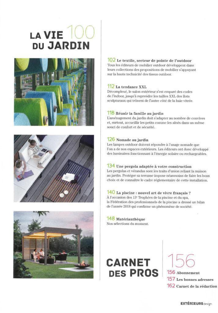 Extérieurs Design - Winter 2019 - EGO Paris