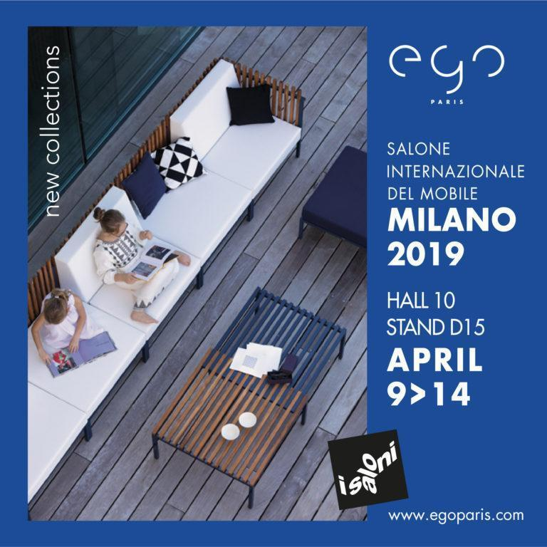 SALONE INTERNAZIONALE DEL MOBILE – MILANO – STAND D15 / HALL 10 – 9 > 14 AVRIL 2019