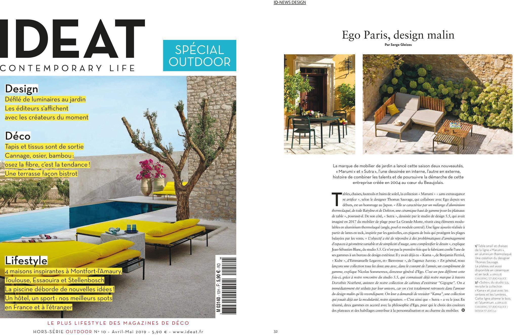 IDEAT - April / May 2019 - EGO Paris