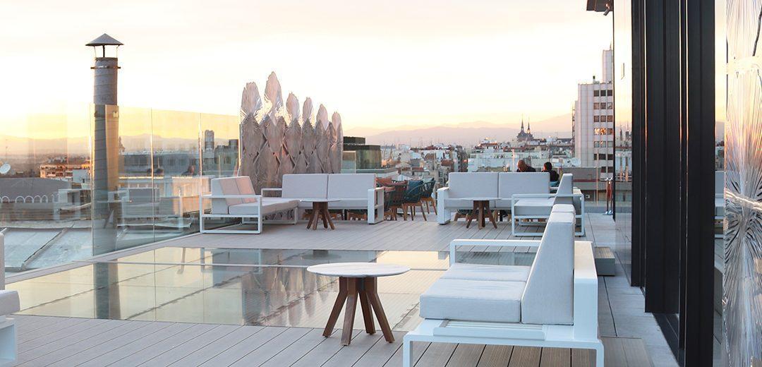 Ginkgo Restaurant Sky Bar Madrid Spain Ego Paris
